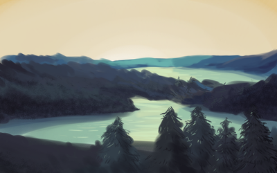 Landscape Practice by InvalidQuestion
