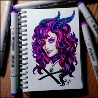 Sketchbook - Valiona by Candra