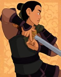 Fa Mulan, who saved us all by AliWildgoose