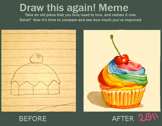Draw this again meme by Venis-Ivy