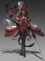 Final Fantasy Red Mage by Whails