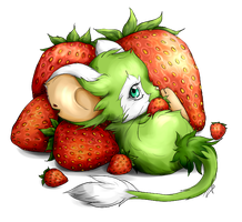 Transformice. Strawberries by krikdushi