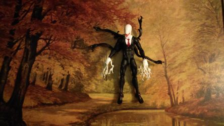 Slender man, the action figure by mrkillzo