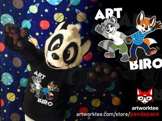 Art and Biro (T-shirt) by pandapaco
