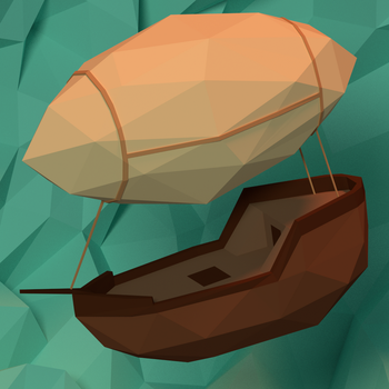 Low Poly Airship by cevher159