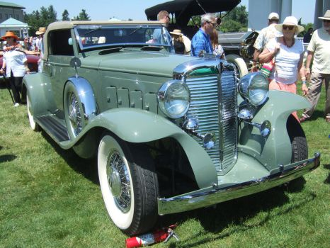1931 Marmon Sixteen Convertible Coupe, LeBaron by Aya-Wavedancer