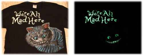 We're All Mad Here Shirt by Lufca