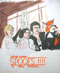 Star Wars: SPOOF by wolfjedisamuel