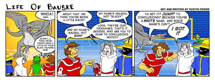 Life of Bauske: Comic 8 by Bauske