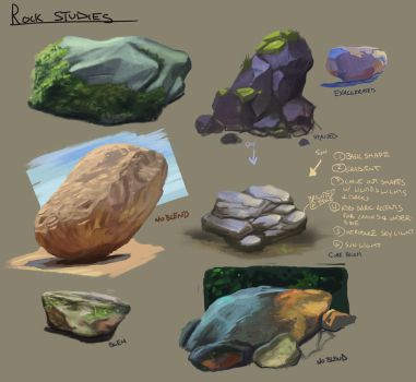 Rock Studies by YogFingers
