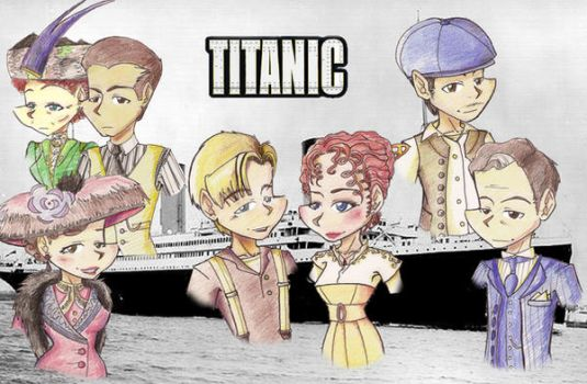TITANIC by 0Indiantiger0