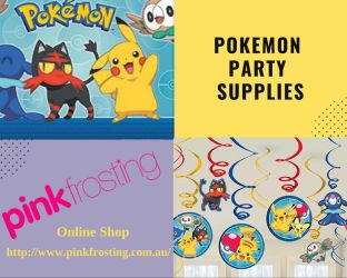 Pokemon Party Supplies by henspartysupplies