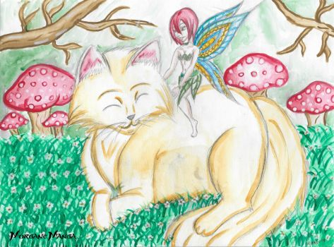 Fairy Cat by Morgane-Mangas