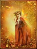 Autumn Fairy by Euselia