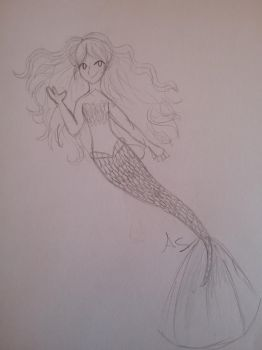 Different mermaid by creepergirl890