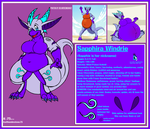 Sapphie Windrie Reference Sheet by Kaithunderstone75