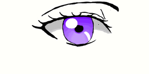 Purple Anime Eye by butterflyfox-4-life