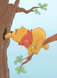 Winnie the Pooh by ifroggirl