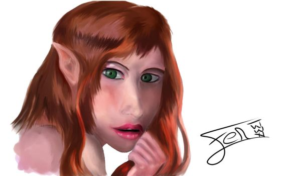 Elf Paint Cleaned by Fenrirr1337