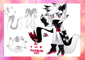 Z the Marbled Fox by CthulhuFruitLoops