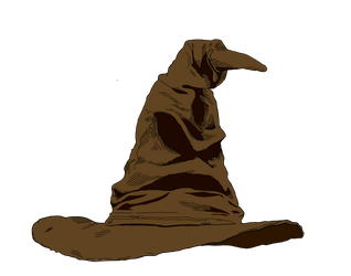 The Sorting Hat by SaintGlinglin
