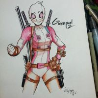 GWENPOOL by WePePe