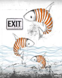 fish exit by creative74