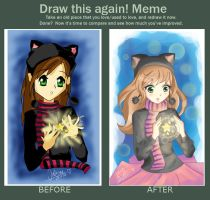 Draw this again meme by Ailonwy