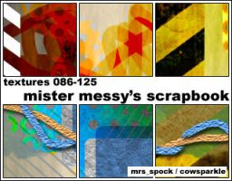 Messy Scrapbook Icon Textures by MrsSpock
