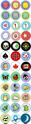 Buttons by McGibs