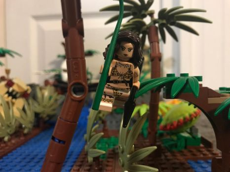 LEGO Jenna of the Jungle  by Macoraprime