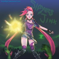 slayer jinx by HolyElfGirl