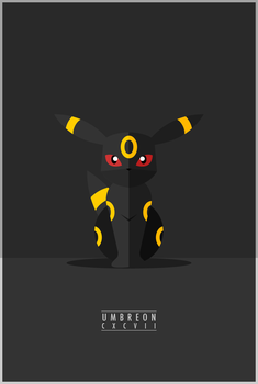 Umbreon : CXCVII by WEAPONIX