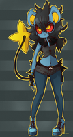 Beatrix the Luxray by EmiMG