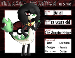 .:: TeenagePokemon ::. Belial Servine App by LazarusSpooks