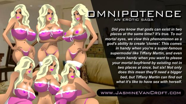 Omnipotence Twitter Poster #51/100 by jasminevancroft