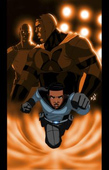 Adama: Deadly Alliance variant by Chizel-Man