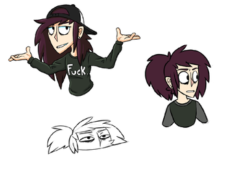 First Sketches of the Year ft. Mara by SuperBlade9000