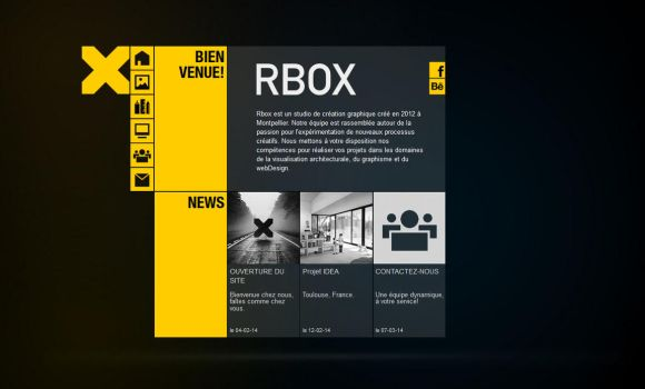 RBOX - Home page by HJ-6