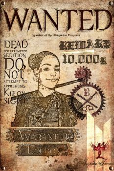 Wanted Poster: Amaranthe by eterniss