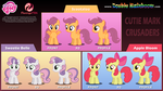 Cutie Mark Crusader Puppet Rigs v3.0 by oxinfree
