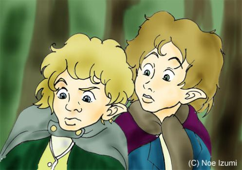 Merry and Pippin movie version by Noe-Izumi