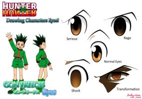 Hunter x Hunter - Gon's Eyes by Andy-chanWantToDraw