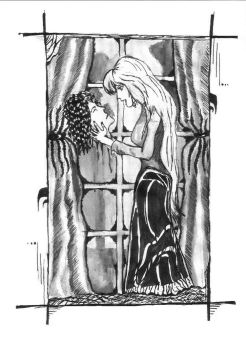 Bloody Kisses Inked by Grisznak