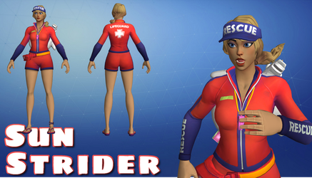 Sun Strider - Fortnite - [DL] by HarleySin