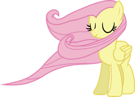Fluttershy (gentle wind vector) by davidsfire