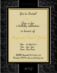 60th Birthday Invite - 1 by MissC4739