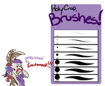 OMG BRUSHES by Quiddie-2000