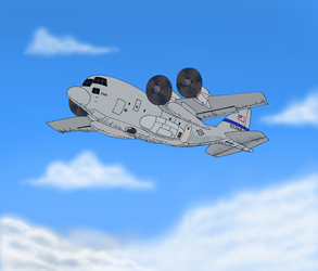 Commission - C-130 Hercules by LordShmeckie