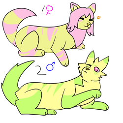 Kittens #2 Adoptables open by Mit-s0u